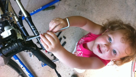 Fixing bikes is easy
